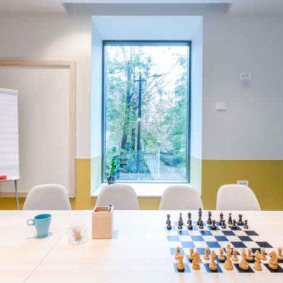 Sala de birou in spatiu de coworking in Bucuresti